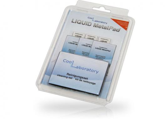 Термоинтерфейс CoolLaboratory Liquid MetalPad CL-MP-3G-CS