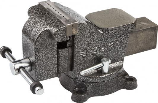 Тиски Зубр Мастер слесарные поворотные 100мм 3258-100 слесарные тиски зубр эксперт 32712 100