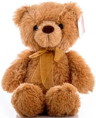 Мягкая игрушка Aurora Медведь текстиль коричневый 32 см 15-320 aurora медведь коричневый сидячий 61589