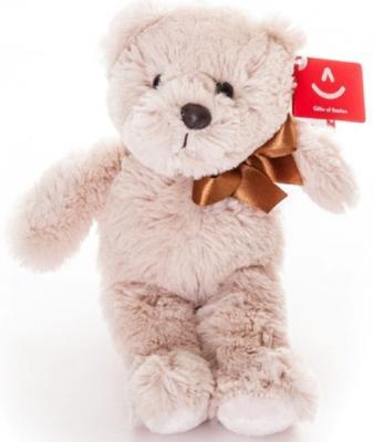 Купить Мягкая игрушка Aurora Медведь искусственный мех кремовый 65 см, Животные