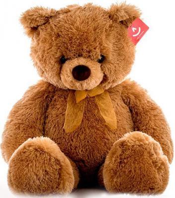 Мягкая игрушка AURORA Медведь плюш коричневый 65 см 15-324 magic bear toys мягкая игрушка медведь с заплатками в шарфе цвет коричневый 120 см
