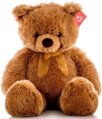 Мягкая игрушка Aurora Медведь искусственный мех коричневый 65 см