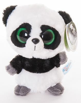 Мягкая игрушка панда Aurora Юху и друзья синтепон плюш белый черный 12 см