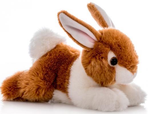 Мягкая игрушка Aurora Кролик плюш коричневый 28 см 300-01