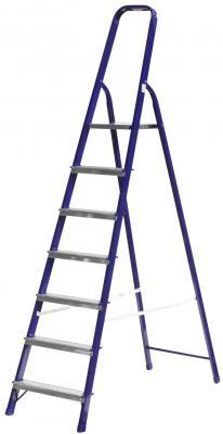 Лестница-стремянка Зубр стальная 7 ступеней 38803-07