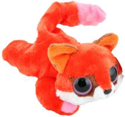 Мягкая игрушка лисица Aurora Юху и друзья лисица лежачая плюш синтепон красный 16 см
