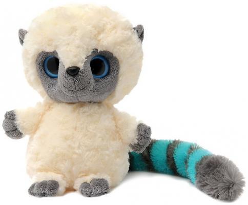 Мягкая игрушка лемур Aurora Юху и друзья Юху плюш синтепон голубой 12 см