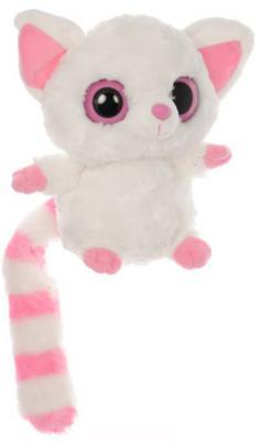 Купить Мягкая игрушка Aurora Лисица Фенек текстиль искусственный мех белый 12 см, искусственный мех, текстиль, Животные