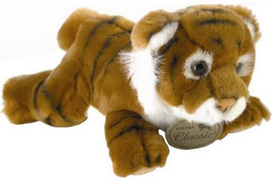 Мягкая игрушка тигр Aurora тигр плюш синтепон коричневый 28 см