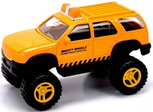 Внедорожник Mighty Wheels Soma Строительный желтый 18 см