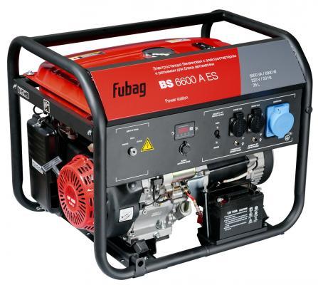 Генератор Fubag BS 6600 A ES 10.9 л.с бензиновый бензиновый генератор ergomax er 6600 00000091033