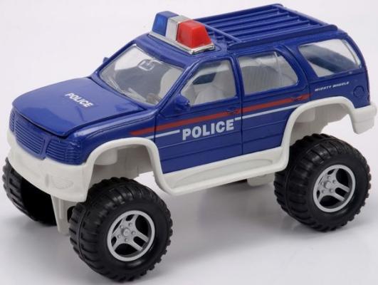 Полицейский внедорожник Soma 78878 синий 18 см 02-140 с телескопическим ковшом цены онлайн