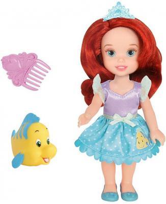 Кукла Jakks Принцессы Дисней Малышка Ариэль с питомцем 15 см 754940