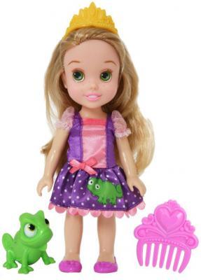 Кукла Disney Принцессы Дисней Малышка с питомцем, Рапунцель 15 см