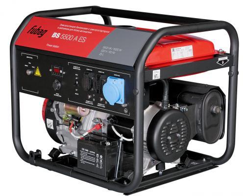 Генератор Fubag BS 5500 A ES 12.8 л.с бензиновый