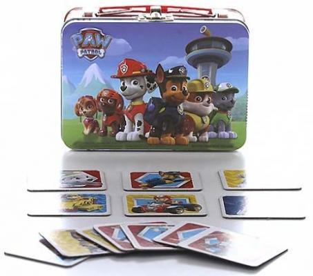 Настольная игра Paw Patrol Щенячий патруль 72 карточки светильник декоративный 3dlightfx paw patrol rocky mini 3d