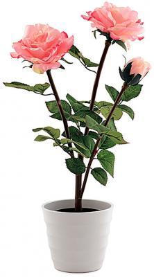 Настольная лампа СТАРТ LED роза 3 розовый