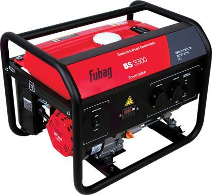 Генератор Fubag BS 3300 5.8 л.с бензиновый 838209 бензиновый генератор hyundai hhy3000f в белгороде