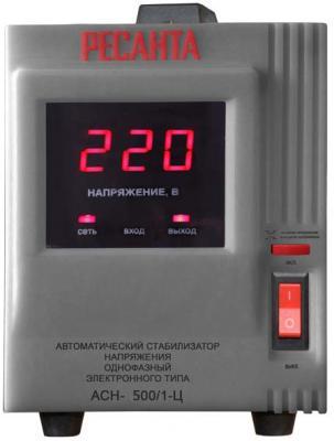 Стабилизатор напряжения Ресанта АСН-500/1-Ц серый