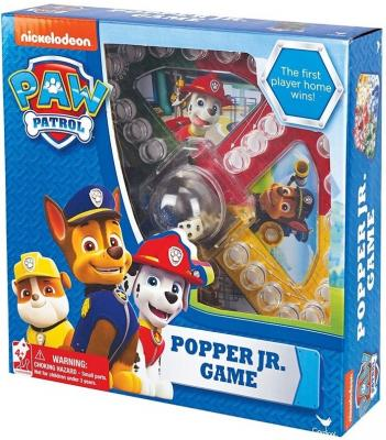 Настольная игра SPIN MASTER развивающая Щенячий Патруль с кубиком и фишками 6028799