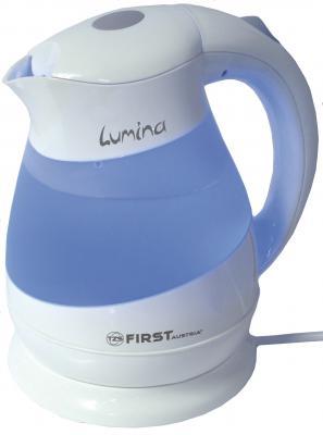 Чайник First 5417-1 2200 Вт белый 1.5 л пластик