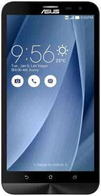 "купить Смартфон ASUS Zenfone 2 Laser ZE500KL серебристый 5"" 32 Гб LTE Wi-Fi GPS 3G 90AZ00EB-M04770 недорого"
