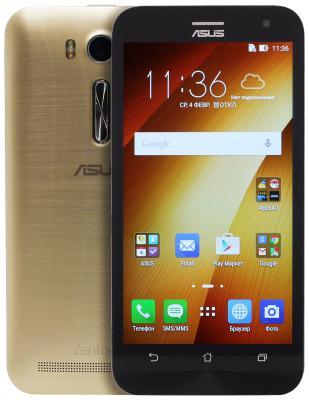 Смартфон ASUS Zenfone 2 Laser ZE500KL золотистый 5 32 Гб LTE Wi-Fi GPS 3G 90AZ00EA-M04760 ze500kl 1a435ru
