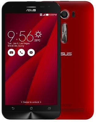 Смартфон ASUS Zenfone 2 Laser ZE500KL красный 5 32 Гб LTE Wi-Fi GPS 90AZ00E3-M04740 смартфон asus zenfone 3 max zc553kl серебристый 5 5 32 гб lte wi fi gps 3g 90ax00d3 m00300