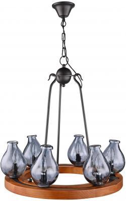 Подвесная люстра Maytoni Flask H100-06-R подвесная люстра maytoni house 4 h100 06 r