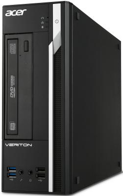 Системный блок Acer Veriton X2640G i3-6100 3.7GHz 4Gb 500Gb Intel HD DVD-RW DOS клавиатура мышь DT.VMXER.006