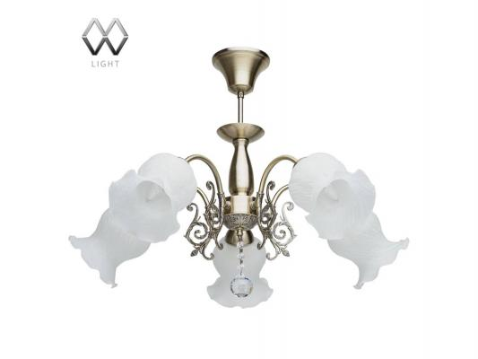 Подвесная люстра MW-Light Флора 670010205