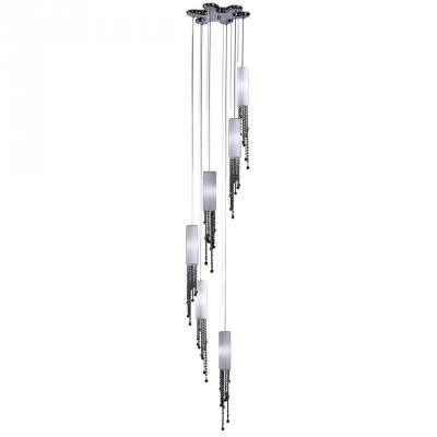 Подвесная люстра Odeon Notts 2571/6 подвесной светильник коллекция notts 2571 1 хром белый хрусталь odeon light одеон лайт