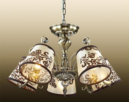 Подвесная люстра Odeon Pari 2687/5 odeon light подвесная люстра odeon light pari 2687 5