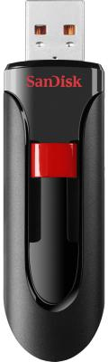 Флешка USB 256Gb Sandisk Cruzer SDCZ60-256G-B35 черный красный