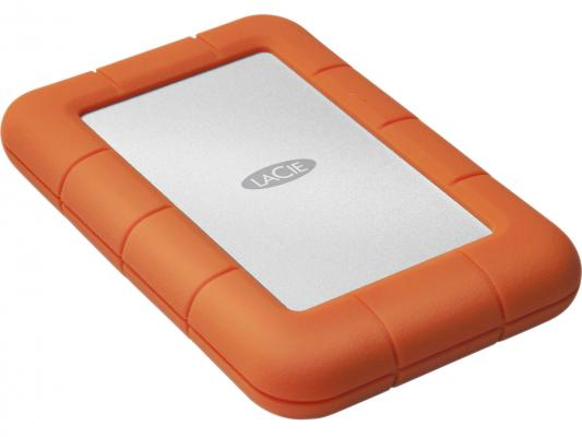 Внешний жесткий диск 2.5 USB3.0 Thunderbolt 1Tb Lacie STEV1000400 оранжевый внешний жесткий диск lacie porsche design 1tb stet1000400 silver
