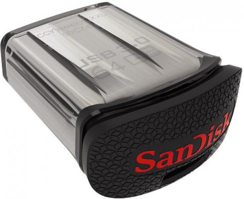 Флешка USB 64Gb SanDisk Ultra Fit SDCZ43-064G-GAM46 черный флешка usb 32gb sandisk ultra dual sddd2 032g gam46 черный