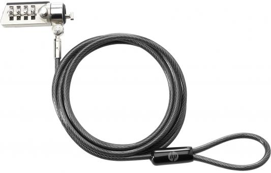 Замок HP Lock Combination Cable T0Y15AA замок hp dual head keyed cable lock t1a64aa