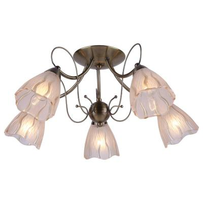 Потолочная люстра Arte Lamp Monica A6189PL-5AB