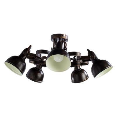 Потолочная люстра Arte Lamp Martin A5216PL-5BR потолочная люстра arte lamp 72 a5495pl 5br