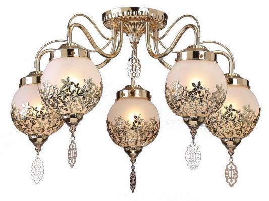 Потолочная люстра Arte Lamp Moroccana A4552PL-5GO люстра на штанге arte lamp modello a6119pl 5go
