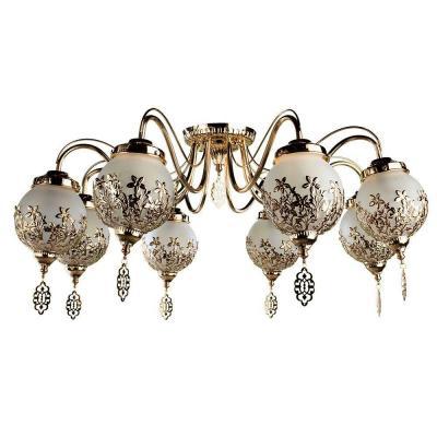 Потолочная люстра Arte Lamp Moroccana A4552PL-8GO люстра arte lamp sparkles a3054lm 8go