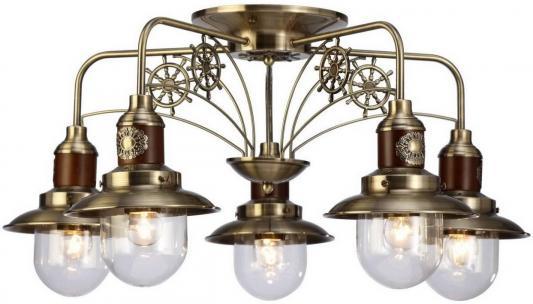 Потолочная люстра Arte Lamp Sailor A4524PL-5AB цена и фото