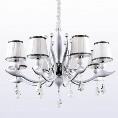 Потолочная люстра Crystal Lux Flamingo SP-PL8 White