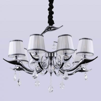 Потолочная люстра Crystal Lux Flamingo SP-PL8 Chrome