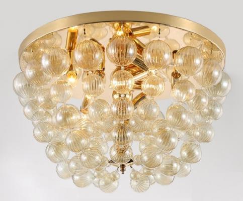 цена на Потолочная люстра Crystal Lux Mallorca PL8 Gold/Amber