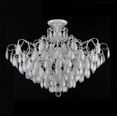 Потолочная люстра Crystal Lux Sevilia PL9 Silver люстра crystal lux fontain sp8