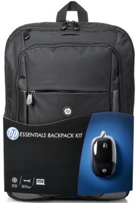 Сумка для ноутбука 15.6 HP Case Essentials Backpack E5L03AA искусственная кожа нейлон черный сумки case logic сумка case logic basic для ноутбука 15 6