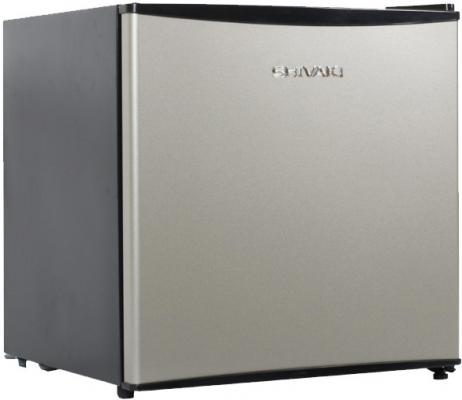 Холодильник SHIVAKI SHRF-55CHS серебристый черный
