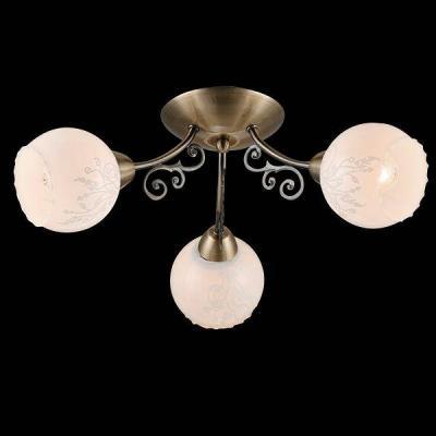 Потолочная люстра Eurosvet 30003/3 античная бронза