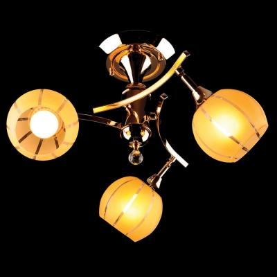 Потолочная люстра Eurosvet 3353/3 золото/желтый